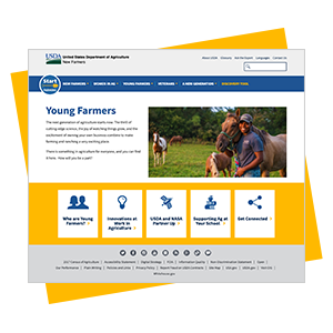 Link to Young Farmers Website